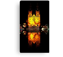 Reflecting Cathedral  Canvas Print
