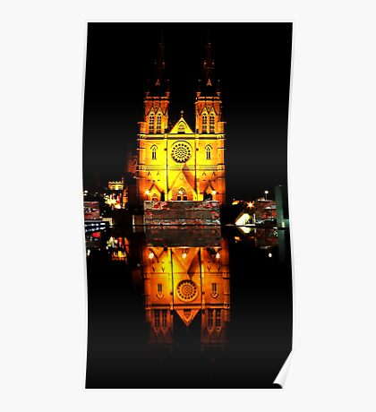Reflecting Cathedral  Poster