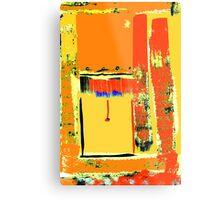 The open blind, St. Kilda ... Metal Print