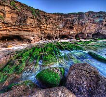 The Real Caves Beach - Swansea NSW by Ian English