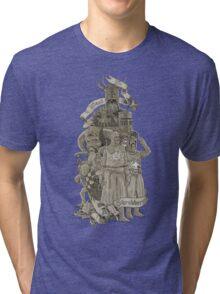 WE WANT A SHRUBBERY! Tri-blend T-Shirt