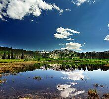 Willow Heights Lake, Big Cottonwood Canyon, Utah by Ryan Houston