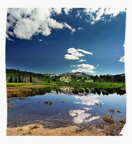 Willow Heights Lake, Big Cottonwood Canyon, Utah Poster