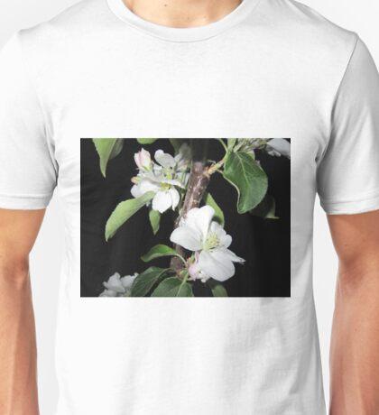Apple blossom at night (5) Unisex T-Shirt