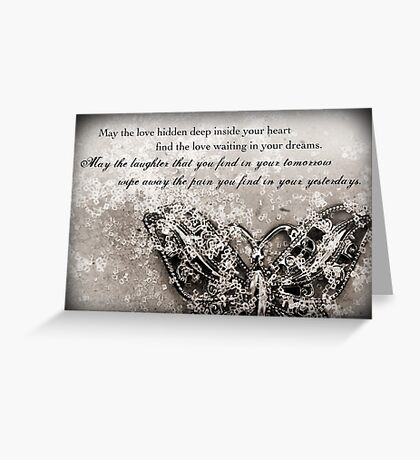 Tomorrow and Yesterday Greeting Card