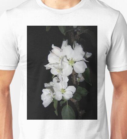 Apple blossom at night (4) Unisex T-Shirt