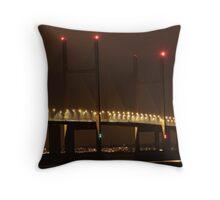 2nd Severn Bridge Throw Pillow