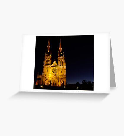 Cathedral Dawn Greeting Card