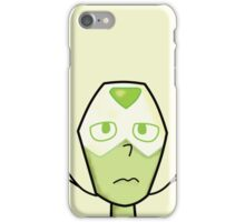 Peridot Face iPhone Case/Skin