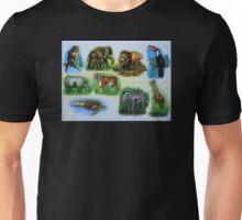 Animal Jigsaw Puzzle Unisex T-Shirt