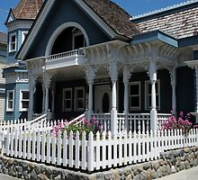 """""""Cute Cambria Cottage"""" by waddleudo"""