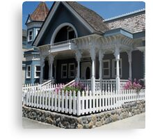"""Cute Cambria Cottage"" Metal Print"