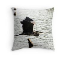 Waterfowl in Flight Throw Pillow