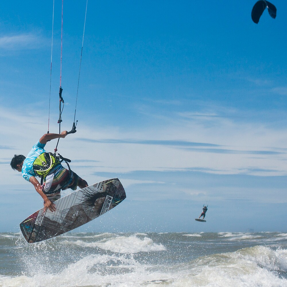 Kiteboarder by Jeff Harris
