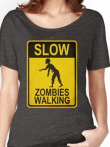 Slow Zombies Walking Women's Relaxed Fit T-Shirt