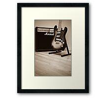 Fender Framed Print