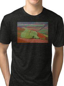 Red Land 06 Tri-blend T-Shirt