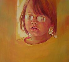 Lucy aged five by Kathylowe