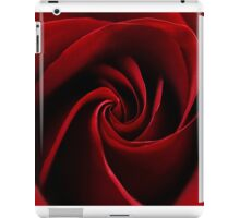 Blood Red Rose iPad Case/Skin