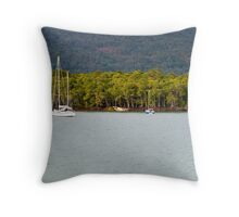 Cairns Seaport Throw Pillow