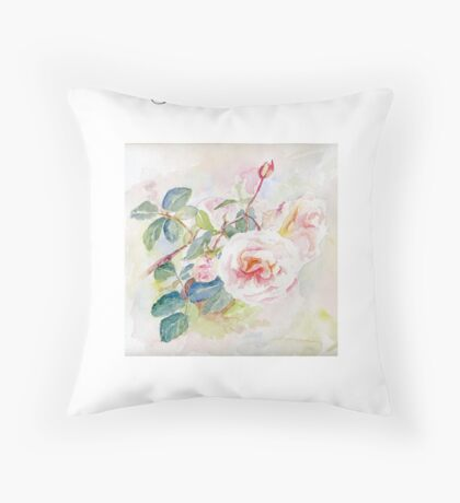 Peaceful Get Well Throw Pillow