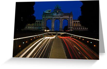 Cinquantenaire - Brussels, Belgium by Ulla Jensen