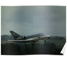 Dassault Falcon (French Navy) Poster