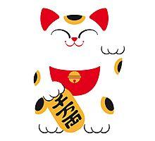 Japan 2 - Maneki Neko Photographic Print
