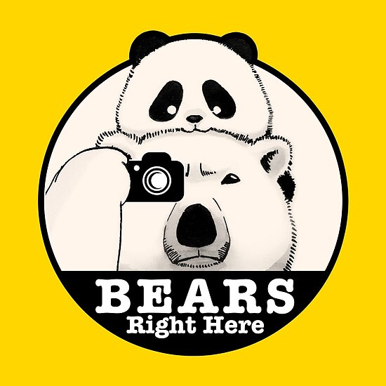 Bears Right Here by Panda And Polar Bear