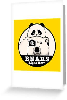 Bears Right Here by Panda And Polar Bear