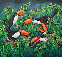 """Toucan Tea"" by Jules Summers"