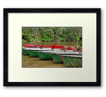 Boats for Hire Framed Print