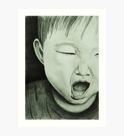 Baby @1 Art Print