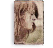 Vintage Portrait Leayah Canvas Print