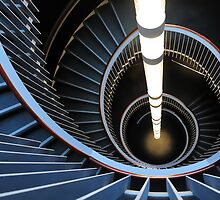 Spiral Staircase, The Usher Hall by Karen Thorburn