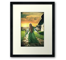 Pathway To Your Dreams Framed Print