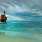 Famous Gytheio Shipwreck in Greece by nickthegreek82