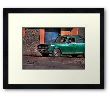 Peruvian Car Framed Print