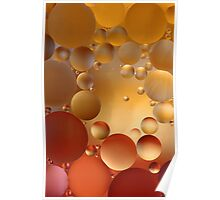 Colourfull bubbles Poster