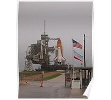 Atlantis waits for final launch Poster
