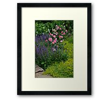 Roses and other flowers Framed Print
