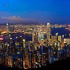 Victoria Harbour Panoramic by HKart