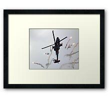 Popping Apache Framed Print