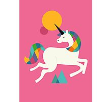 To be a unicorn Photographic Print