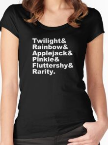 My Little Beatles Women's Fitted Scoop T-Shirt