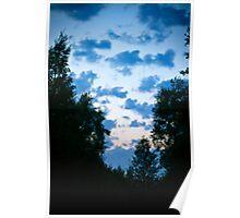 Sky. Poster