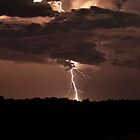 Lightning over Toodyay by jordancantelo