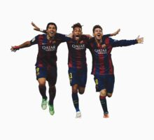 Messi Suarez Neymar by kameniblacket