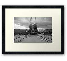 """Tesmec Puller Tensioner"" Framed Print"