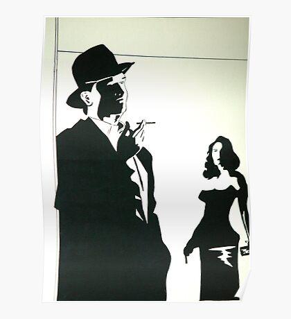 A hot shot woman Poster